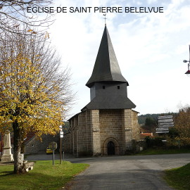L'EGLISE DE SAINT PIERRE BELLEVUE